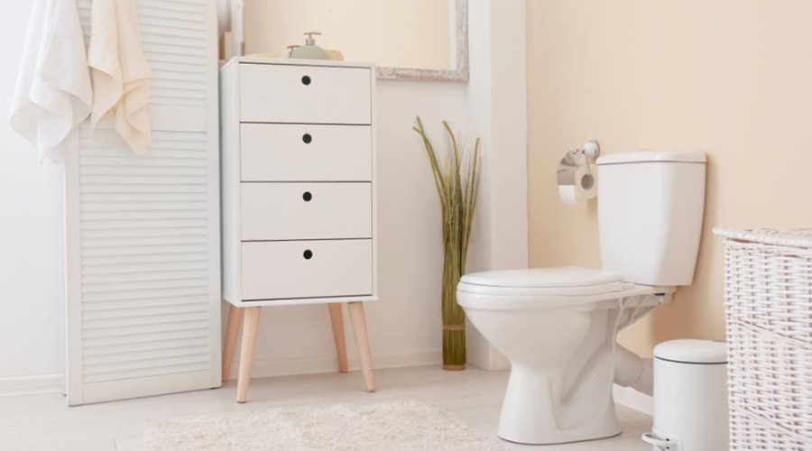 comment décorer toilettes revêtement sol