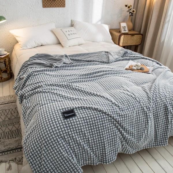 couverture chaude flanelle décoration intérieur