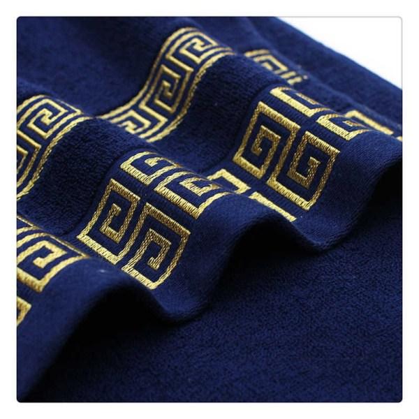 ensemble 3 serviette luxe égyptien finition luxe