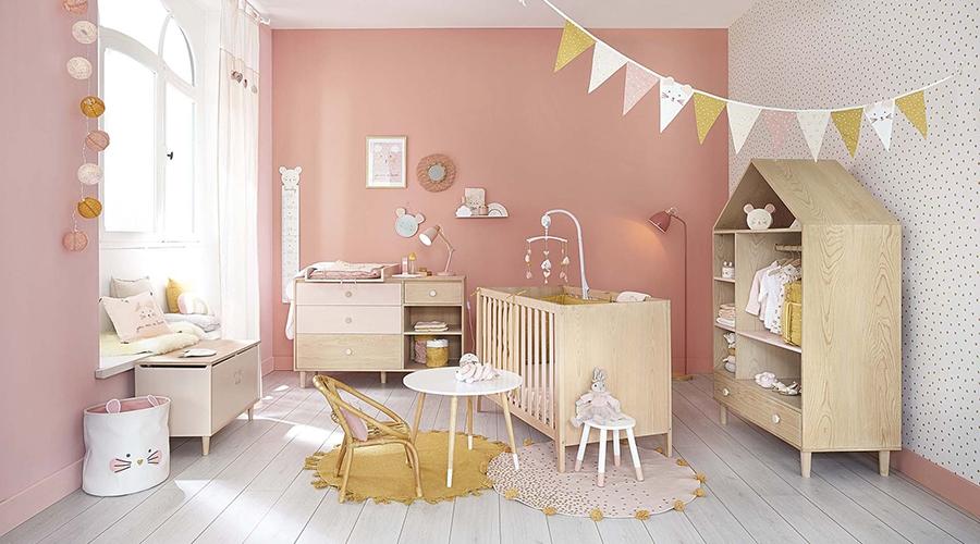 rangement chambre bébé étagère