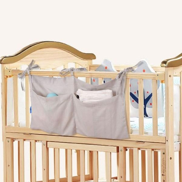sac de rangement suspendu pour lit débé
