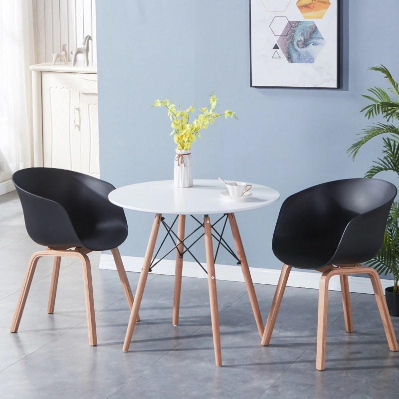 ensembles chaise moderne noir deco scandinave