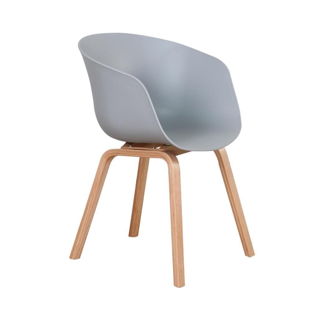 fauteuil scandinave salle à manger gris