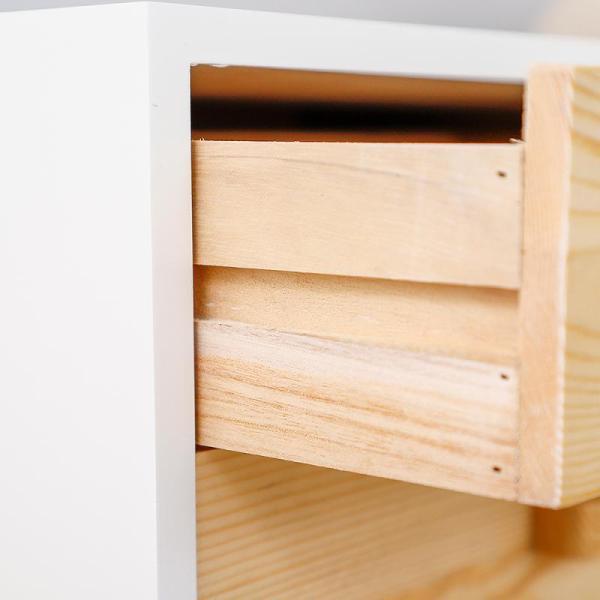 table de chevet style scandinave déco intérieur