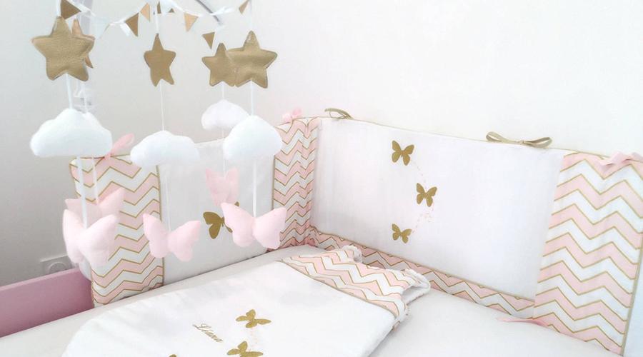 linge de lit déco chambre bébé
