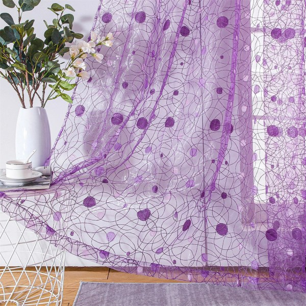 rideau transparent déco maison