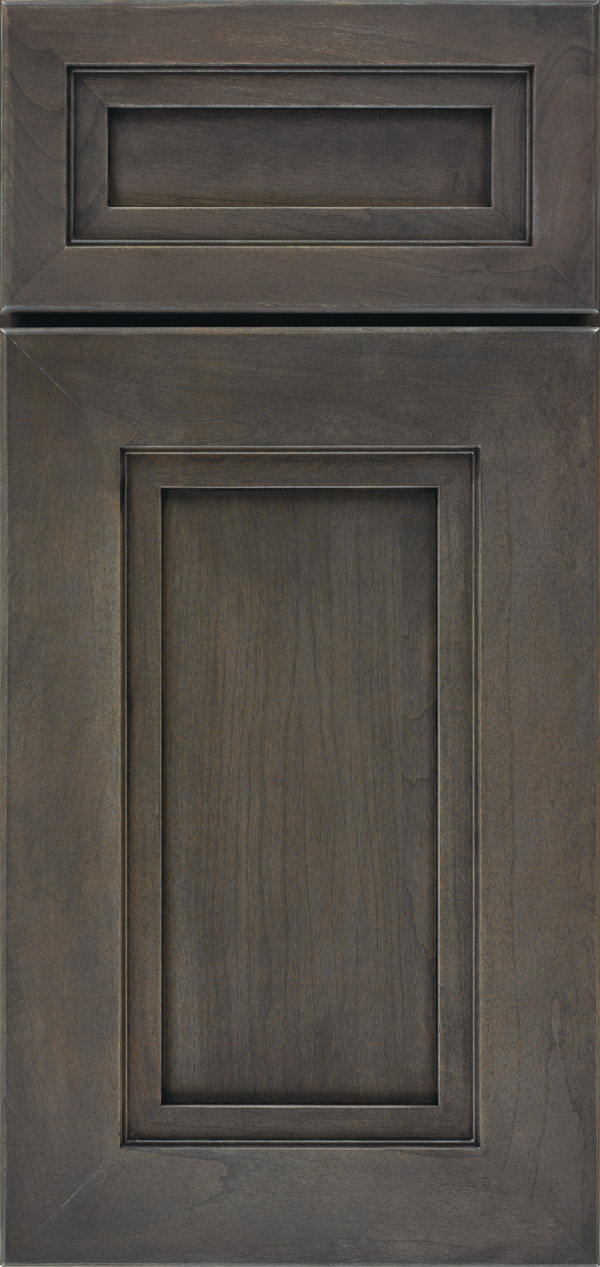 Smokey Hills Gray Cabinet Stain On Cherry Omega