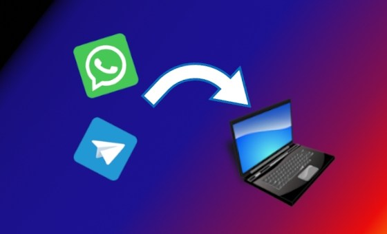 Come utilizzare WhatsApp e Telegram sul PC Front