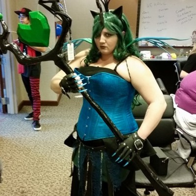Queen Chrysalis Staff from My Little Pony