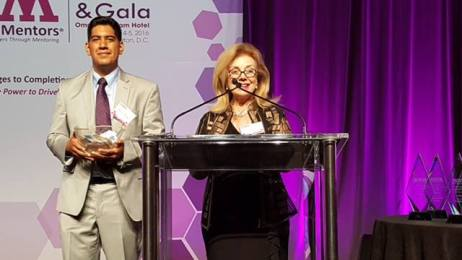 Gloria awarded Entrepreneur of the Year by MWM