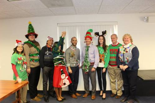 HQ Ugly Sweater Contest