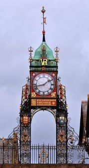 Queen Victoria Clock in Chester, England