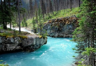 Turquoise River, BC, Canada