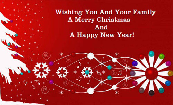 Year Merry New Happy 2017 And Greetings Christmas