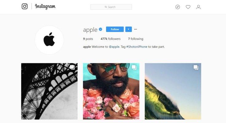 Apple on Instagram