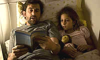 Pai e filha depois da perda