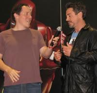 Jon Favreau e Robert Downey Jr