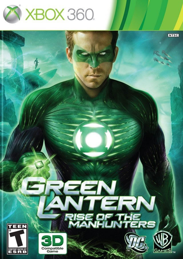 Green Lantern   Rise of The Manhunters [XBOX360]