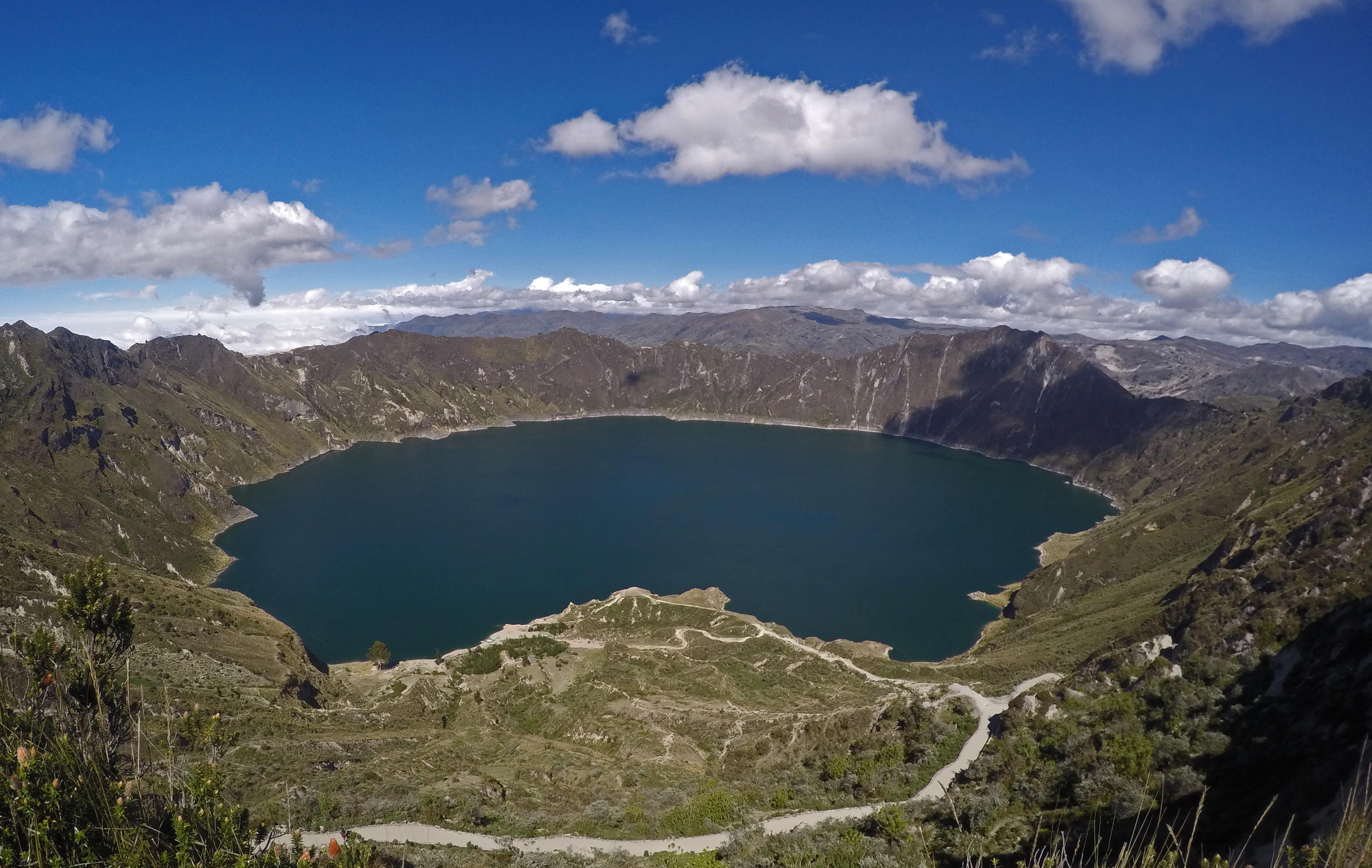 Circuito Quilotoa : Laguna quilotoa: um mar de cores no topo de um vulcão o melhor mês