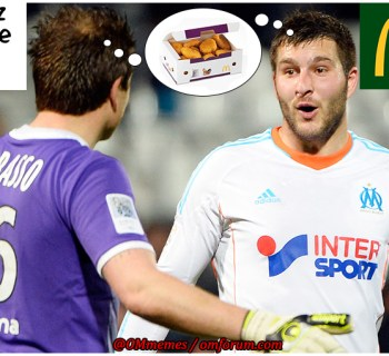 Gignac carrasso nuggets Big Mac McDonalds