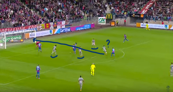 Caen - Olympique de Marseille 1-2 Gignac 93' (04/10/2014) - Passe de Benjamin Mendy