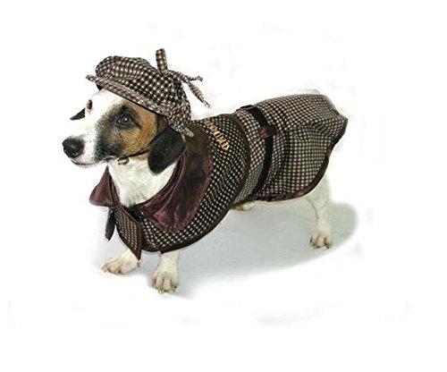 Sherlock Holmes Dog Costume