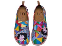 Women's Rainbow Geometric Lady Canvas Travel Shoes