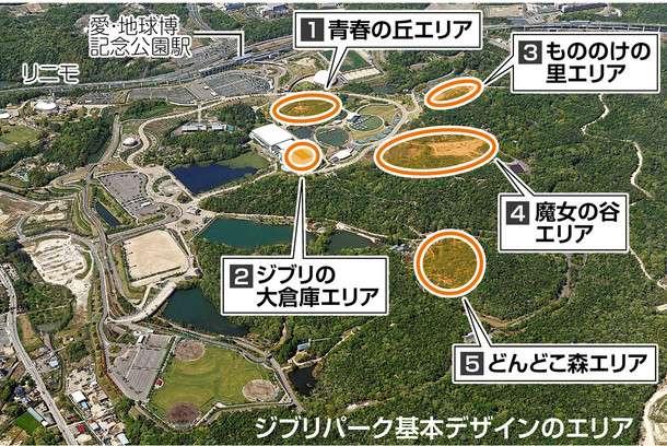 最強實體化! 超大規模「吉卜力公園」釋出概念圖 2022年就能進入宮崎駿的動畫世界 - 爆新聞