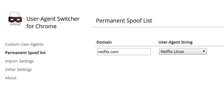 netflix-user-agent-rule