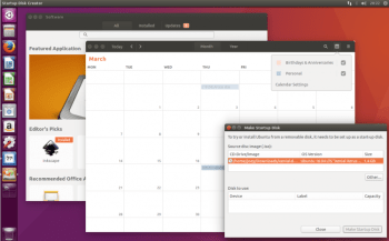 software calendar and usb creator