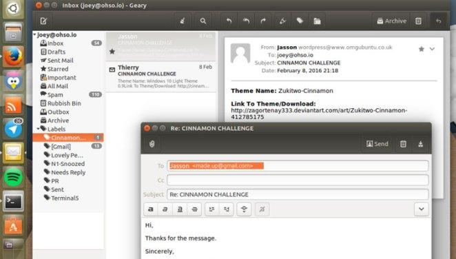 Geary 0.11 no Ubuntu 16.04