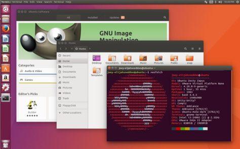 ubuntu 17.04 zesty zapus desktop