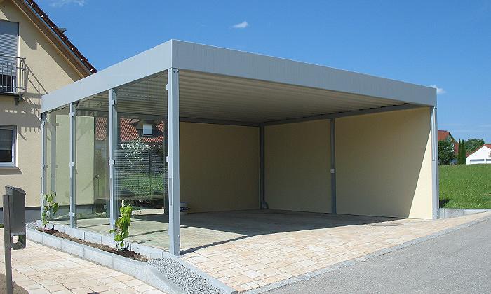 carports start omicroner garagen