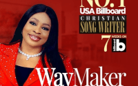 SINACH MAKES HISTORY, BECOMES FIRST AFRICAN TO TOP BILLBOARD WITH 'WAY MAKER' | @SINACH |