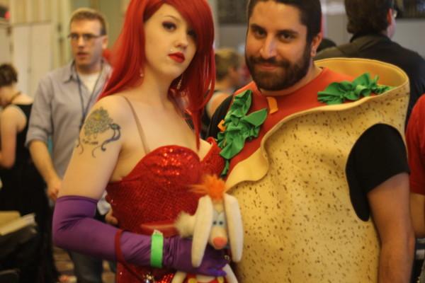 Saskatoon Blitz!: Taco Man & Jessica Rabbit