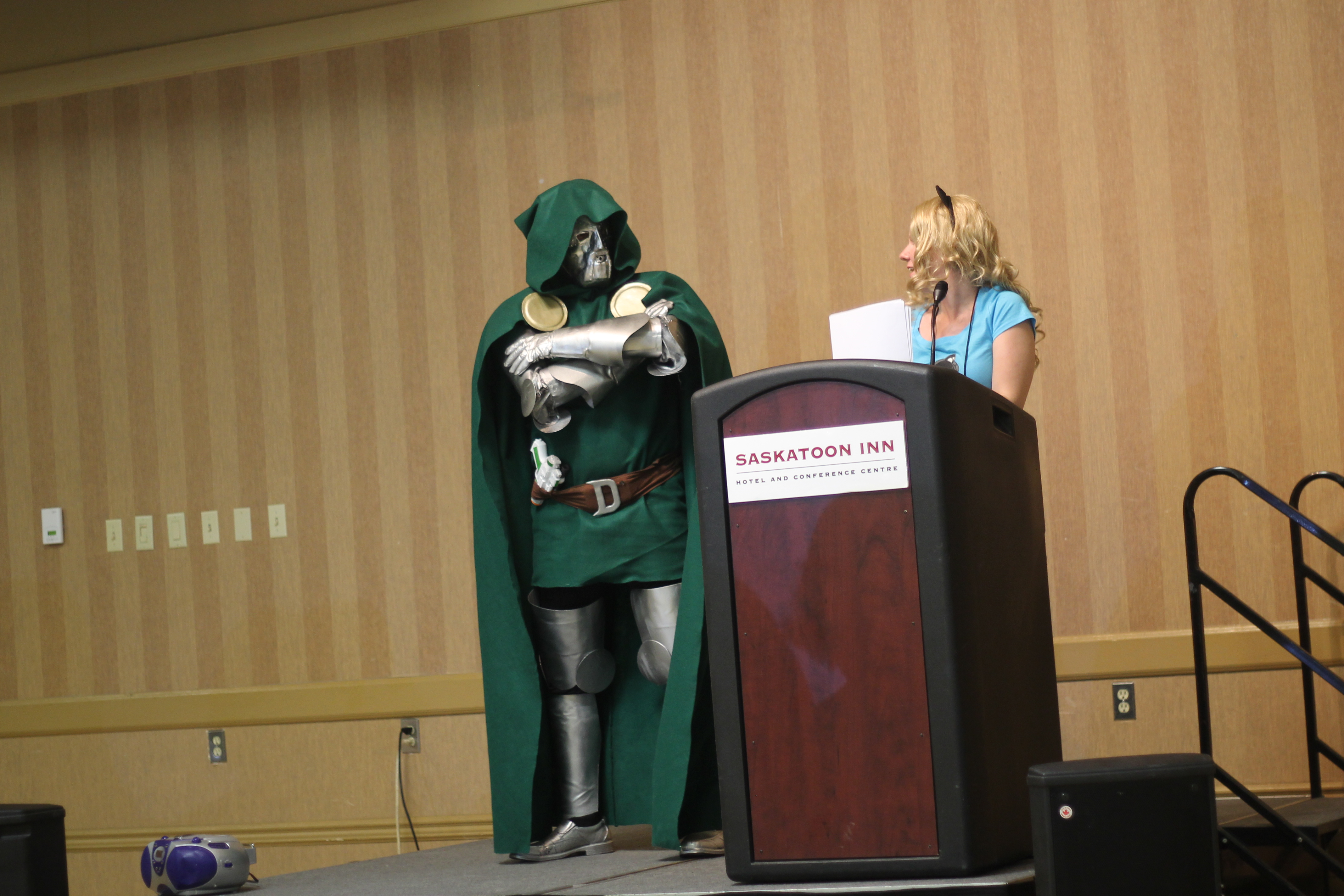 Saskatoon Blitz!: Doctor Doom