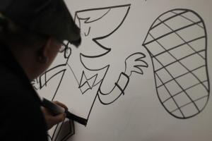 MoSoConf Cartoonist
