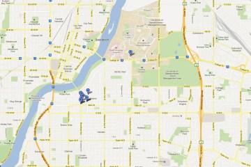 MoSoFest Venue Map