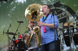 Sask Jazz Fest - Heavyweights Brass Band
