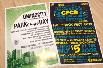 Park(ing) Day & CFCR FM-Phasis