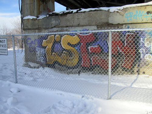 graffiti bridge saskatoon