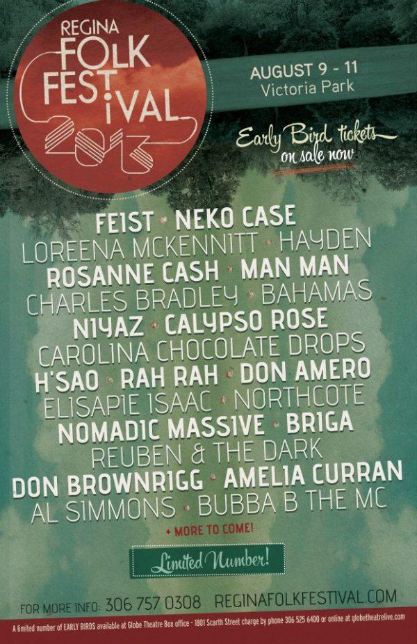Regina Folk Festival 2013