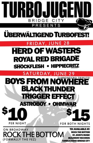 turbofest poster