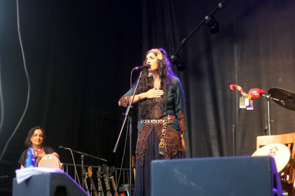 Niyaz at Regina Folk Festival