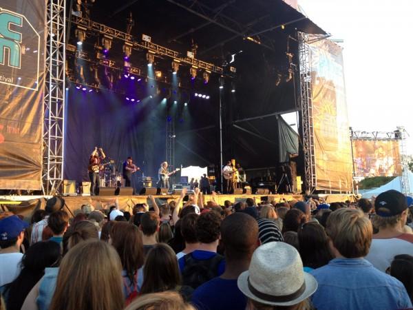 Dan Mangan at Sonic Boom Festival