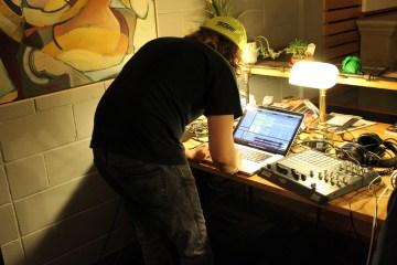 HairDu Records DJs at Saskatoon Park(ing) Day