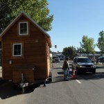 The Tiny Home at Saskatoon Park(ing) Day