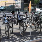 Saskatoon Cycles at Saskatoon Park(ing) Day