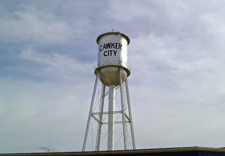 cawker city water tower