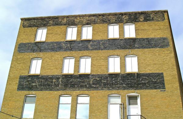 saskatoon building ghost sign
